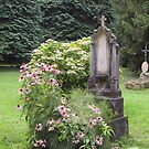 Flowered grave by bubblehex08