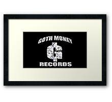 GOTH MONEY RECORDS Framed Print