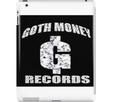 GOTH MONEY RECORDS iPad Case/Skin