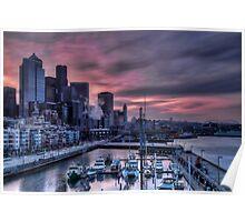 Bell Harbor Marina Seattle (#2) Poster