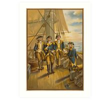 U.S. Navy - Commander in Chief of fleet  (1776) Art Print