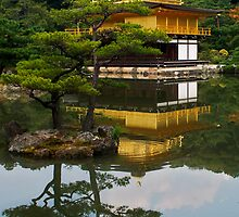 Golden Temple, Kyoto, Japan by Margaret Goodwin