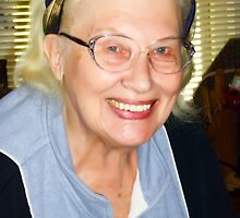 My Mom - 90 Years Young by Darlene Bayne