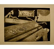 Girl's Night Out- Intaglio Prin Photographic Print