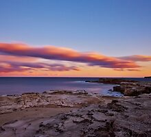 Ocean Sunset by Mark  Lucey