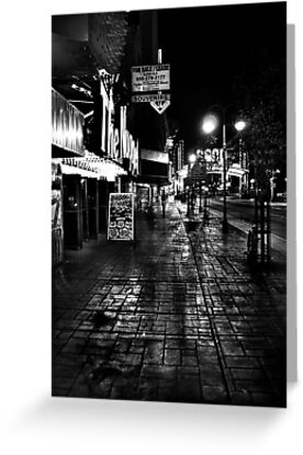 Reno Nevada at night by Jeffrey  Sinnock