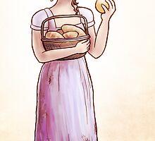 Elizabeth and the orange by Sophie Baer