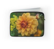 Dahlia Orange Flame Laptop Sleeve