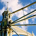 Albert Bridge - London, England by Rae Tucker