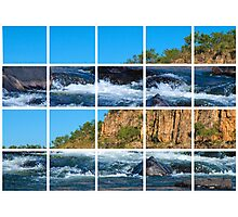 Waters flowing through Katherine Gorge  Photographic Print