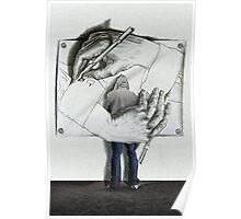 I love Escher Poster