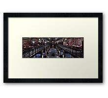 Mortlock Library Panorama Framed Print