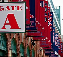 Gate A at Fenway Park by apsjphotography