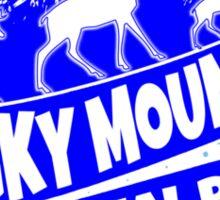 Rocky Mountain National Park Colorado blue logo Sticker