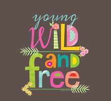 Young, Wild & Free Womens Fitted T-Shirt