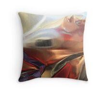 Aluminum Lady Throw Pillow