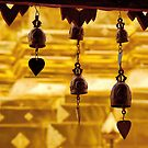 Temple bells, Wat Doi Suthep, Thailand by John Spies
