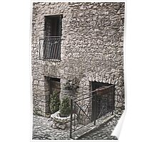 All about Stone Buildings in Italy Poster