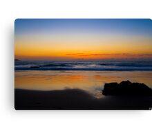 Sun Rise Over Kendall Beach, Kiama Canvas Print