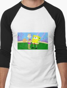 Spandy SpongeBob x Sandy Cheeks Men's Baseball ¾ T-Shirt