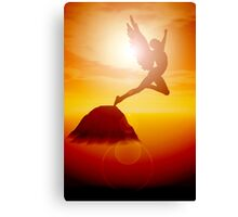Flying too near the Sun Canvas Print