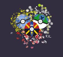 Kingdom Hearts Pokeball Unisex T-Shirt