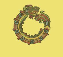 Quetzacoatl by Del Parrish