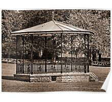 Bandstand, Oswestry Poster