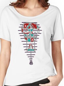 Sleep With One Eye Open Clock Women's Relaxed Fit T-Shirt