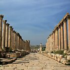 Jerash, Jordan by Justine Chesterman
