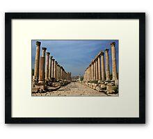 Jerash, Jordan Framed Print