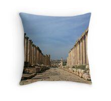 Jerash, Jordan Throw Pillow