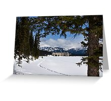 Lake Louise's Beauty Greeting Card