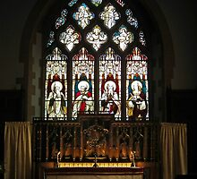 The Parish Church of Oswestry, St Oswald King and Martyr. by LydiaBlonde