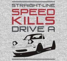 Straight line speed kills, Drive a lightweight roadster One Piece - Long Sleeve