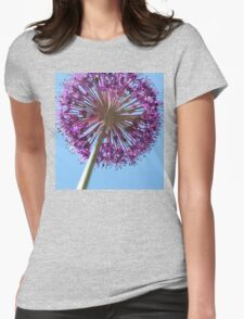 Purple Allium Womens Fitted T-Shirt