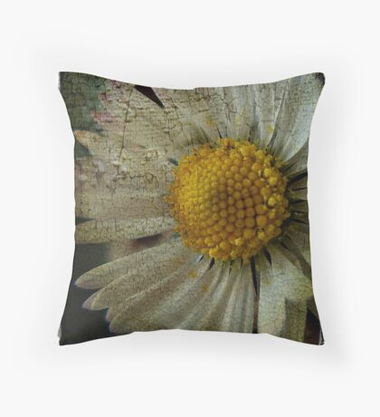 Floral Decay # 3 Throw Pillow