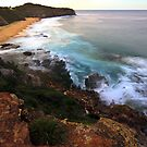 Turimetta after the sun has set by Doug Cliff