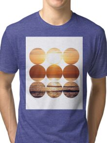 Sunset Circles Tri-blend T-Shirt
