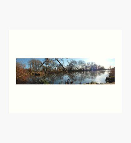lake coome abey  Art Print