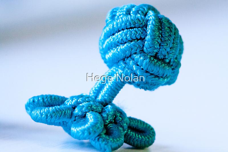 Cufflink - one of a pair by Hege Nolan