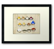 Spicy day Framed Print