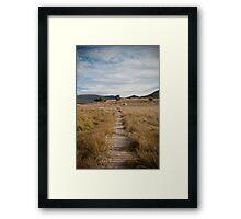 Yankee Hat walking track, Namadgi National Park, Australia Framed Print