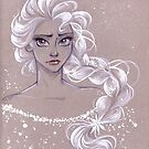 Toned Paper Elsa by CherryGarcia