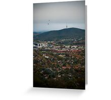 Mount Ainslie, Canberra Greeting Card