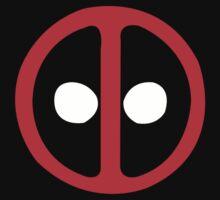 Marvel Comics Deadpool Icon Logo Kids Clothes