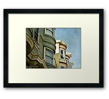 On Being Blue Framed Print