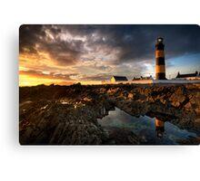 St Johns Point Lighthouse Canvas Print