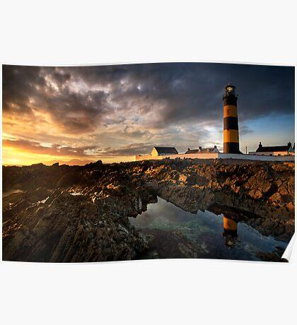 St Johns Point Lighthouse Poster