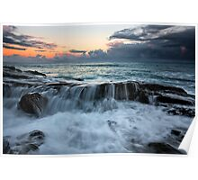Cathedral Rock - Lorne Victoria Poster